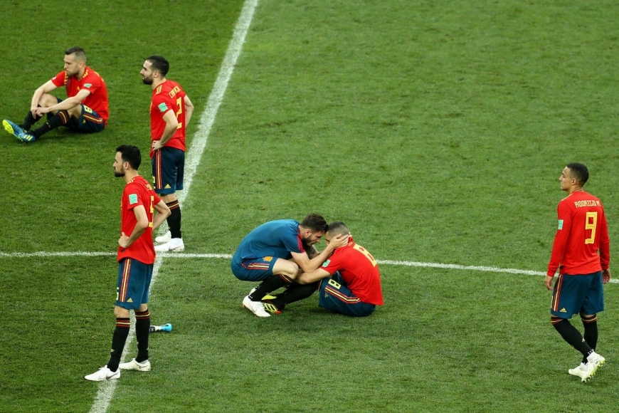 ЧМ-2018. 1/8 финала. Испания – Россия – 1:1 (по пенальти 3:4)